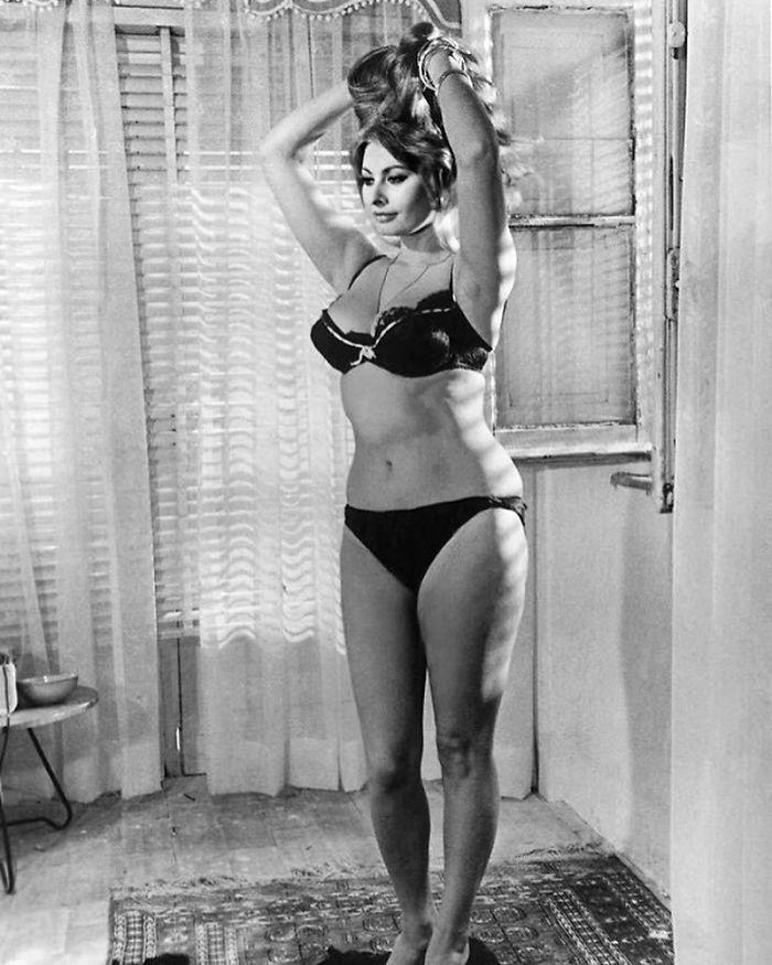 """Sophia Loren, 1965: """"Prefiero comer pasta y beber vino que tener una talla 0"""""""