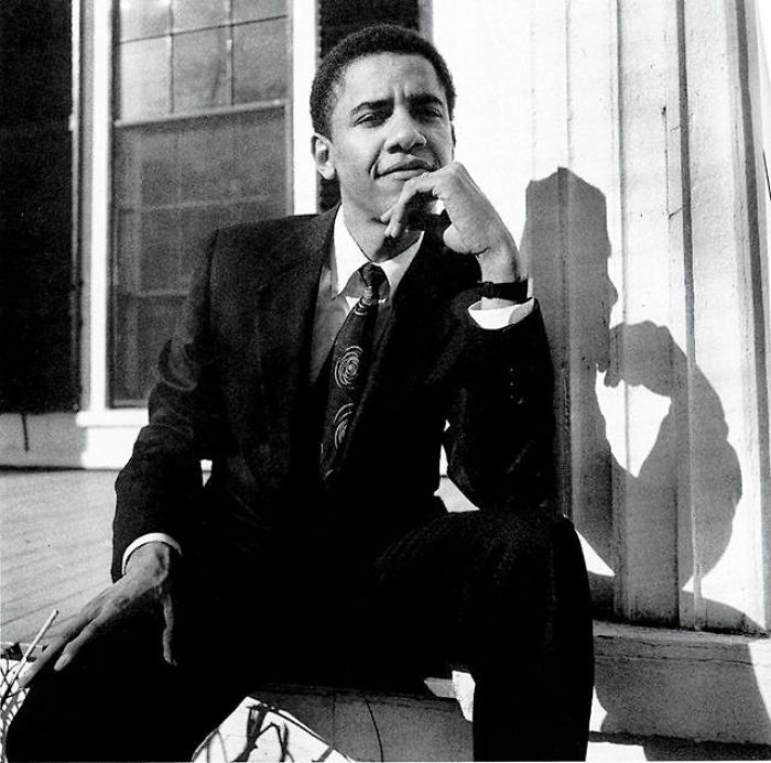 28-Year-Old Barack Obama, In His First Vanity Fair Appearance After Becoming President Of The Harvard Law Review