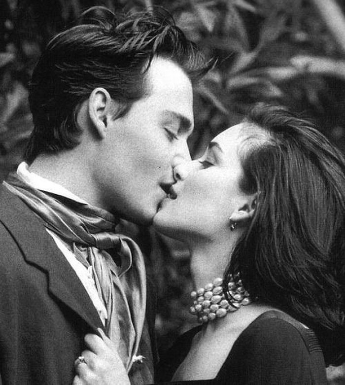 Johnny Depp & Winona Ryder, May 1991 By Herb Ritts For Vogue UK