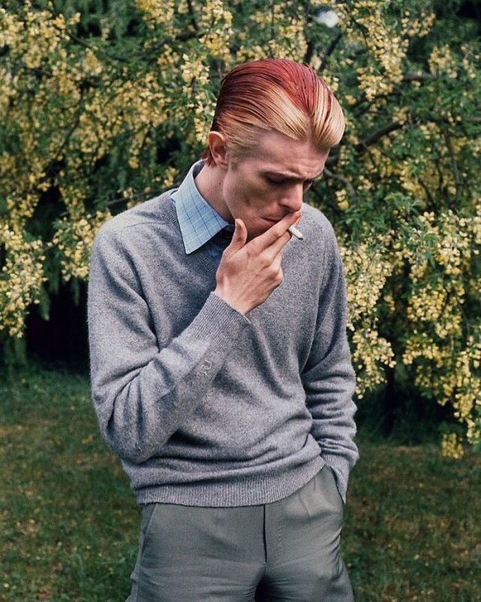 Favorite Photo Of Bowie 1970's By Andrew Kent