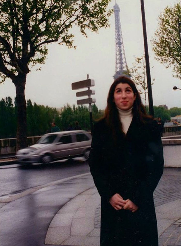 Amy Winehouse As A Teenager In Paris, Late 1990's