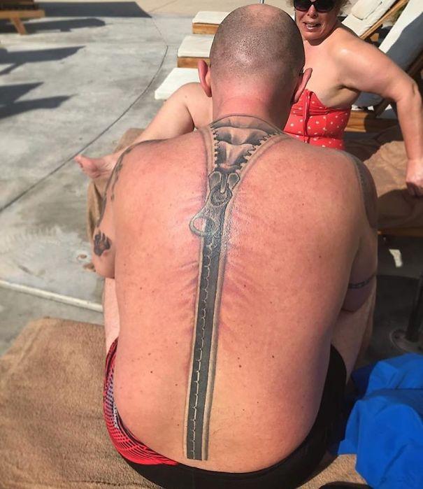 Zipper Tattoo