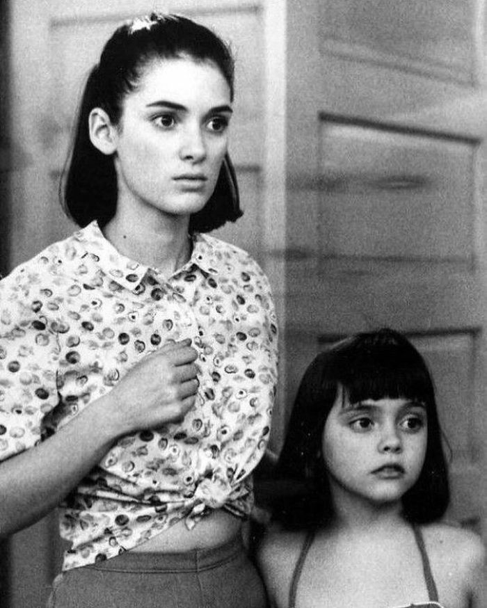 Winona Ryder & Christina Ricci Starring In Mermaids, 1990