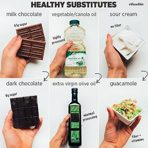 Here Are Some More Healthy Substitutes To Add To Your Routine