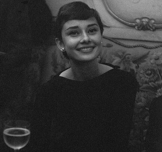 Audrey Hepburn Photographed In Paris, 1955