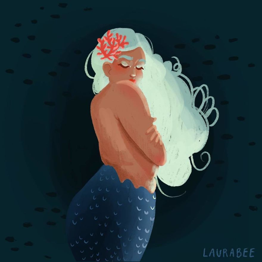 Painting Mermaids Every Day In May