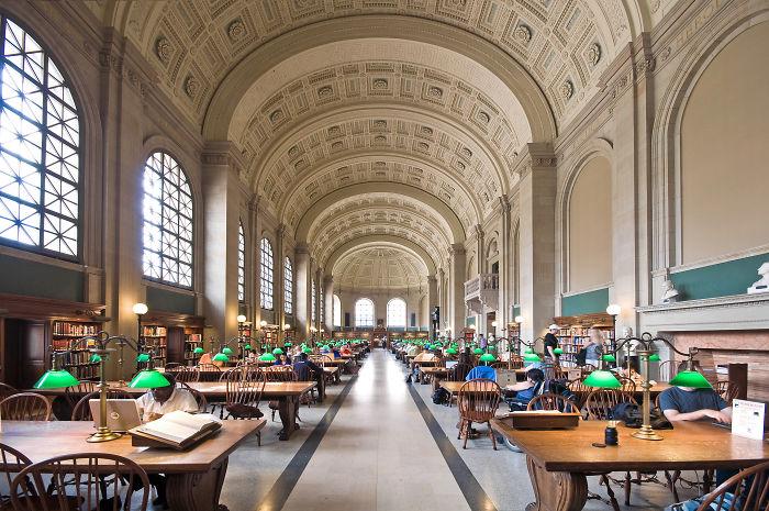 Boston Public Library, Boston, Mass