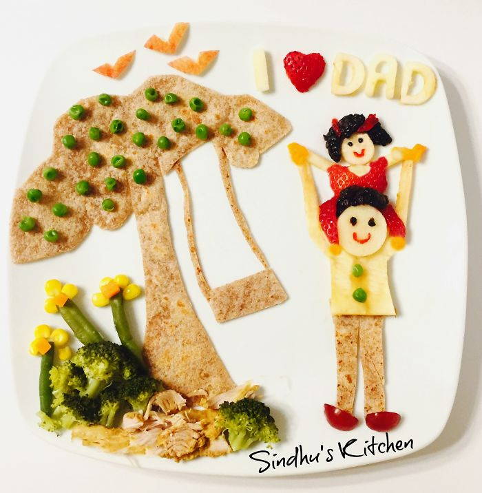 Father's Day Special Food Art