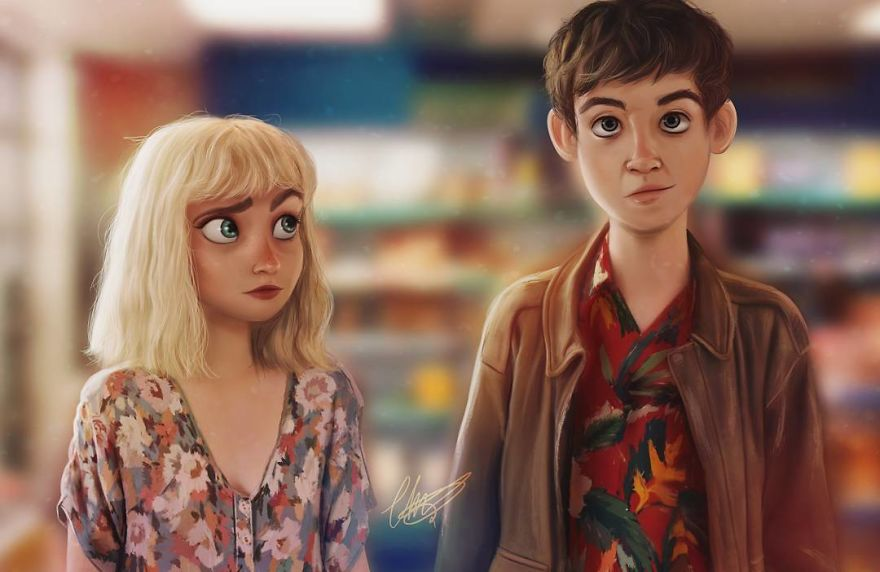 """""""The End Of The F***ing World"""" Fanart"""