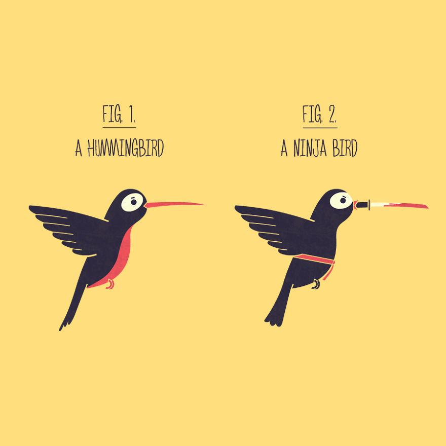 Hummingbird Or Ninja Bird
