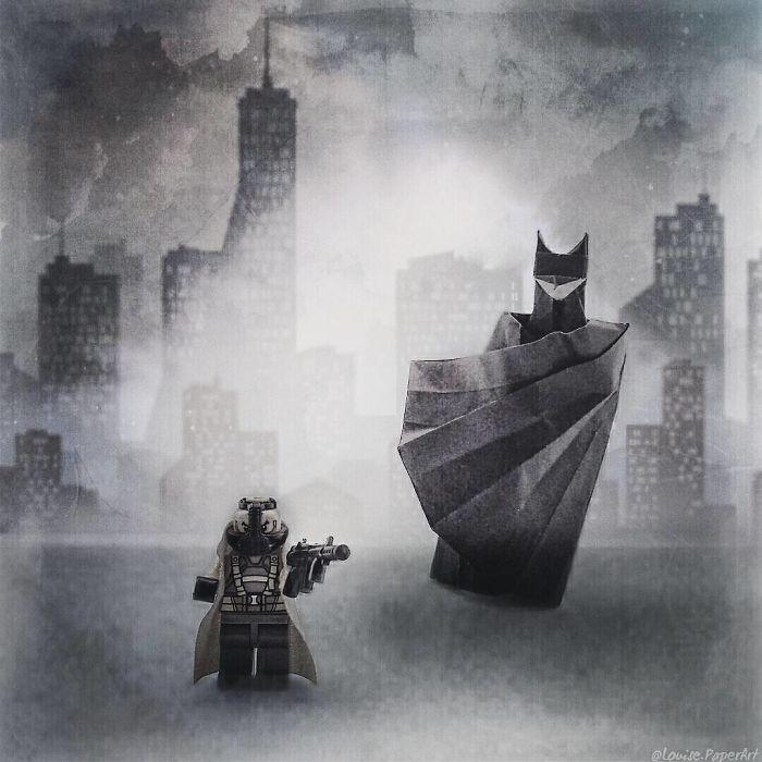 Huge Batman, Tiny Bane