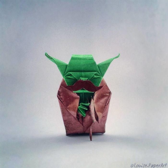 I Make Pop Culture Inspired Origami Bored Panda
