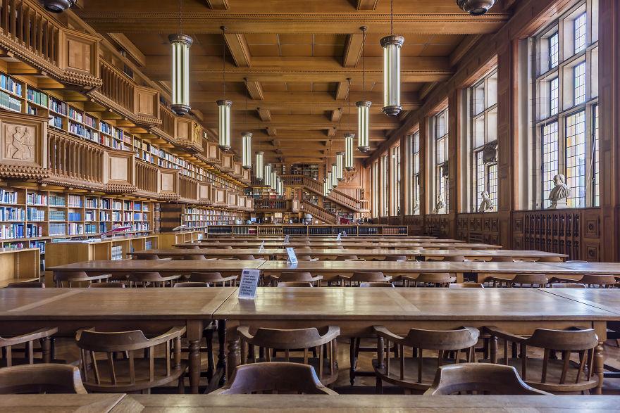 University Library, Lueven, Belgium