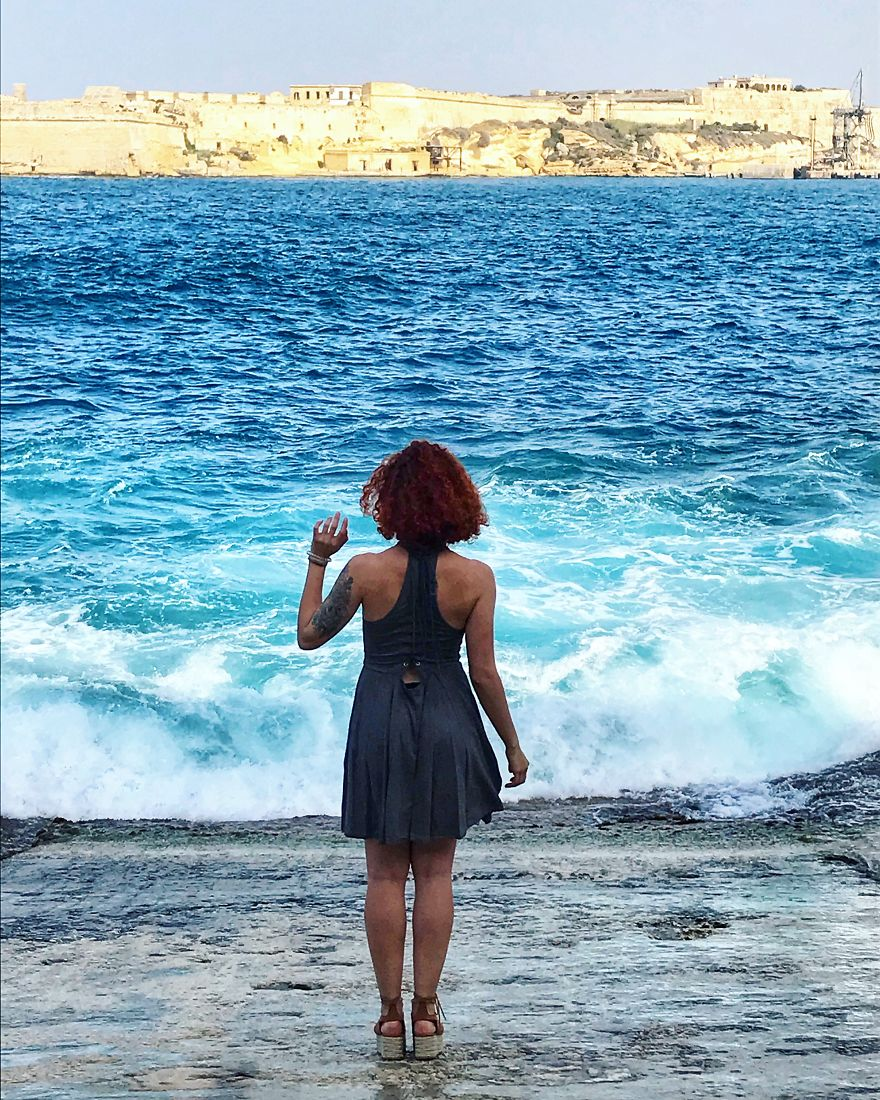Mariia Meets Malta, 2018. That's My 5th Mediterranean Country And Also The 5th Mediterranean Island!