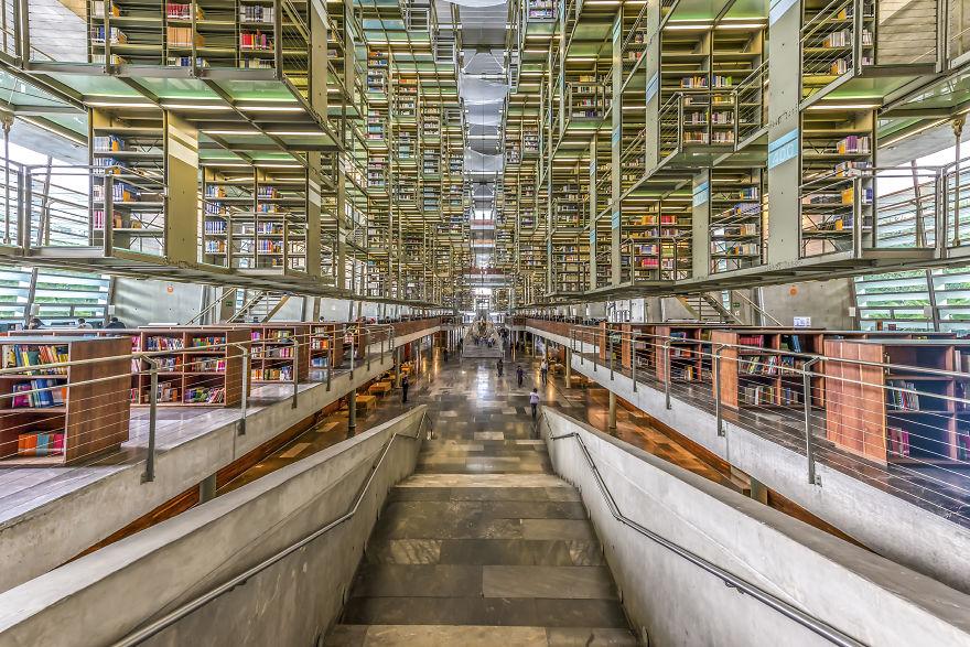 Jose Vasconcelos Library, Mexico City, Mexico
