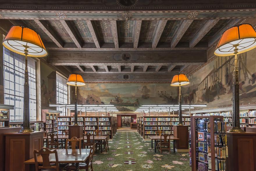 Los Angeles Public Library, Los Angeles, California