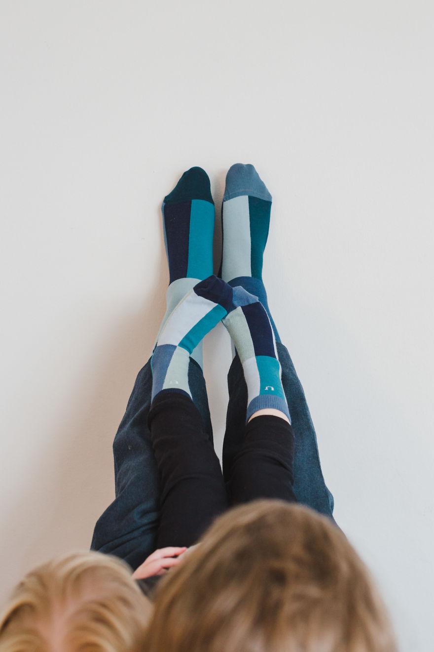 We Have The Same Socks!