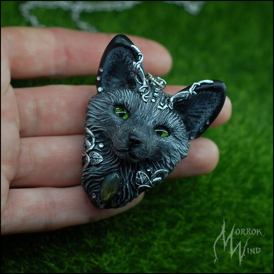 """Silver Fox, Inspired By Lovely Book My Childhood """"Domino"""""""