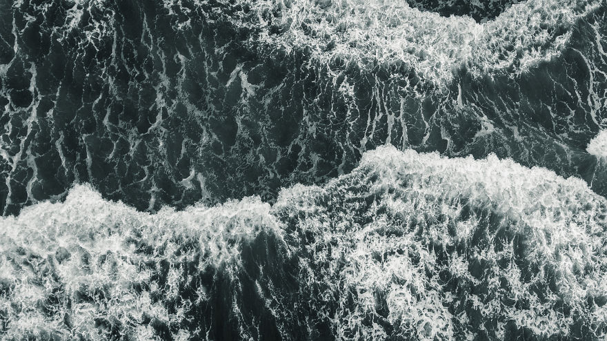 Drone Photographer Captures Storm Over The Pacific Ocean, And The Results Are Stunning