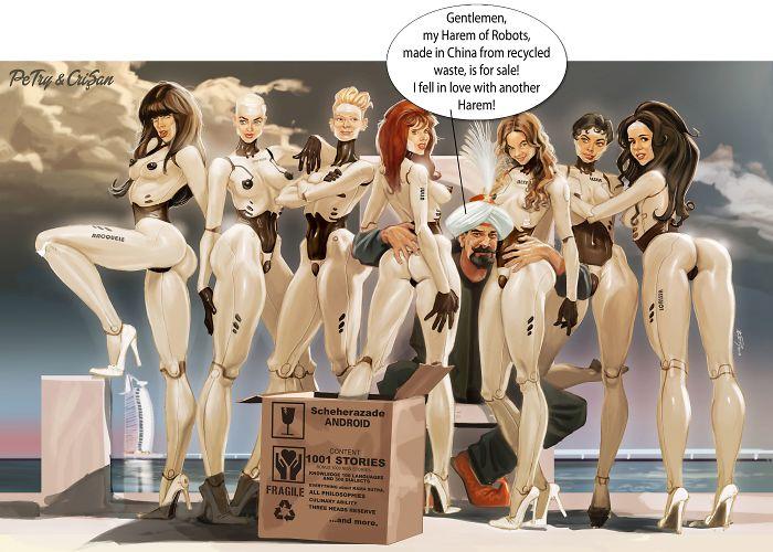 Harem Of Robots