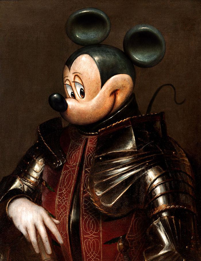 Medieval Mickey