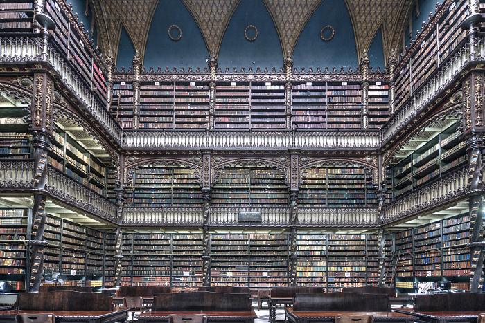 Real Gabinete Library, Rio De Janeiro, Brazil