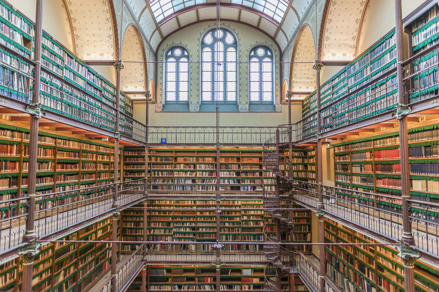 Riiks Museum Library, Amsterdam, Netherlands