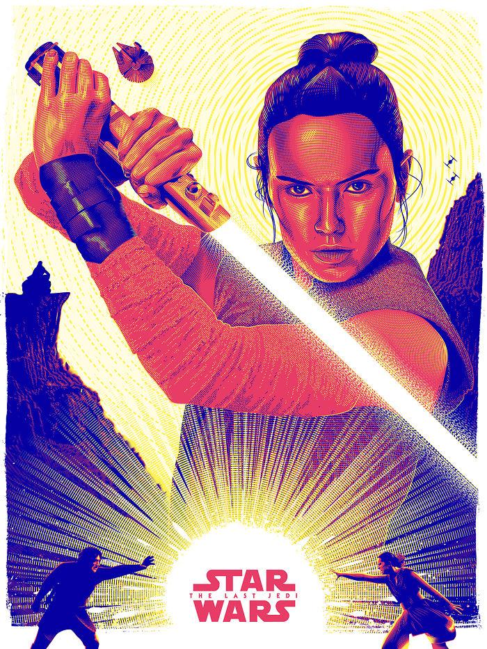 The Last Jedi Tribute Poster
