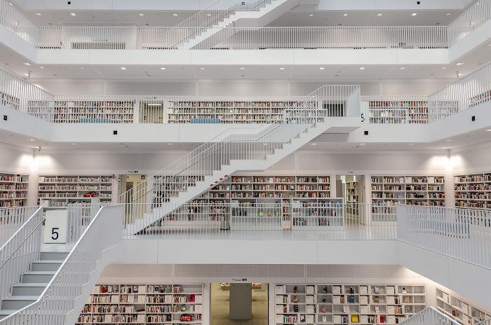 Stuttgart Municipal Library, Stuttgart, Germany