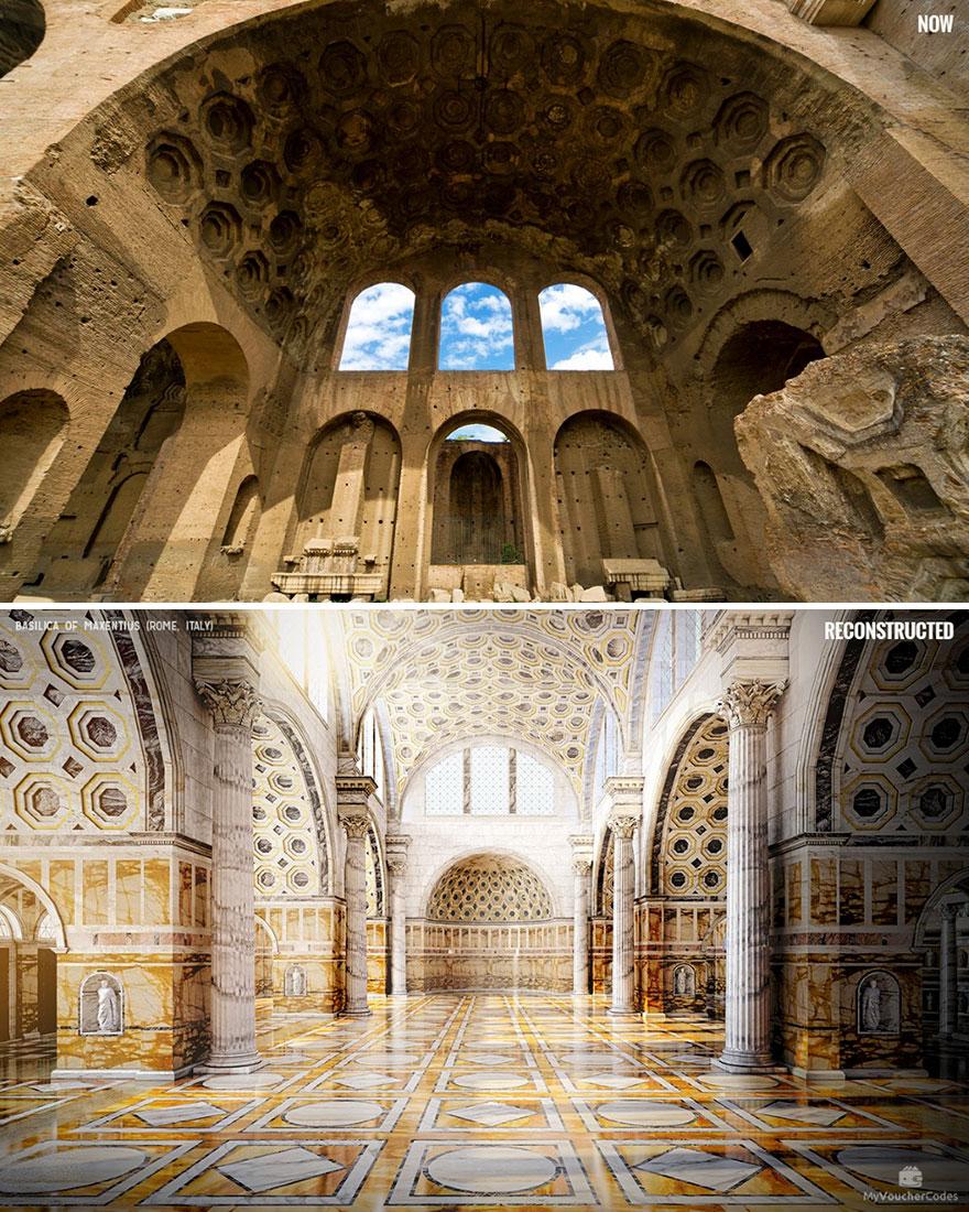 Basilica Of Maxentius (Rome, Italy)