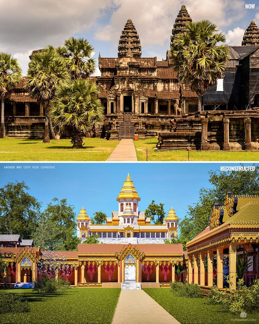 Angkor Wat (Siem Reap, Kambodzsa)