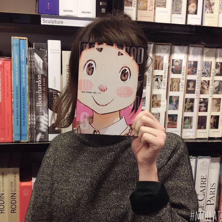 Когда работникам книжного магазина скучно