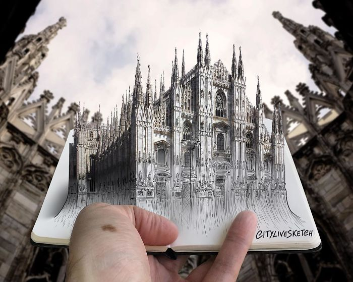 City Live Sketch