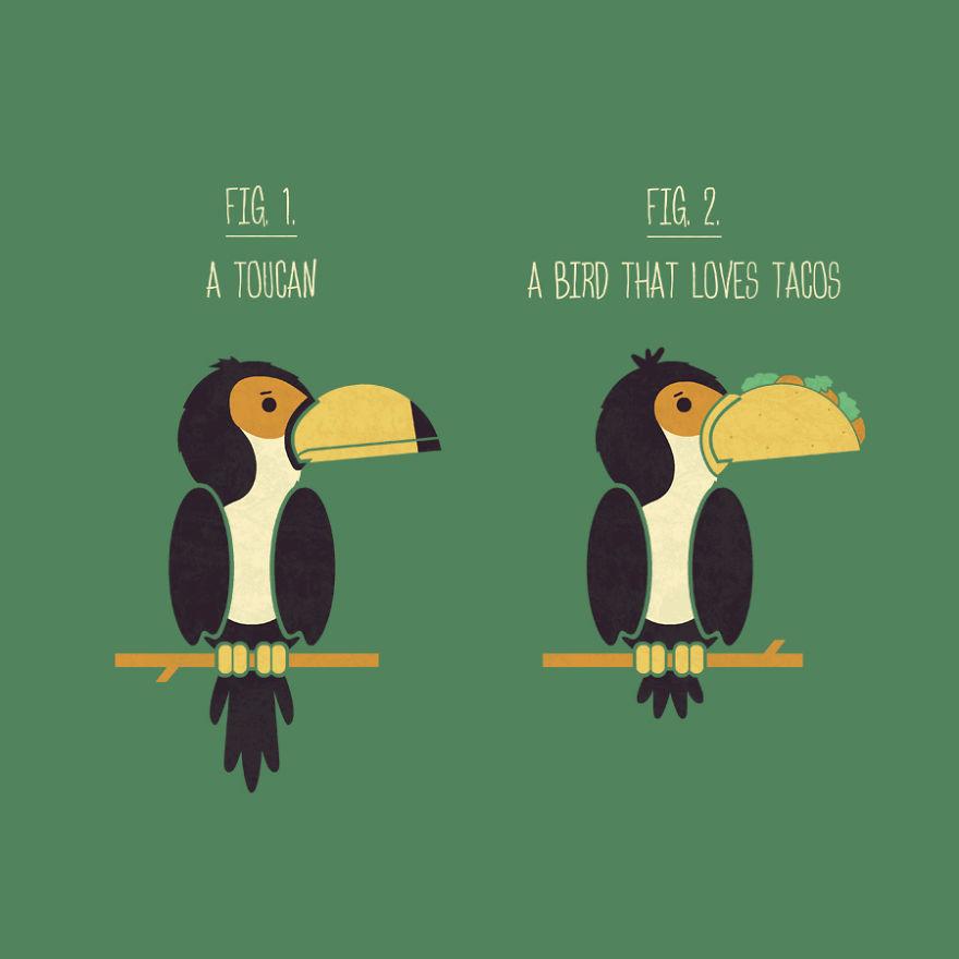 Toucan Or Taco Bird