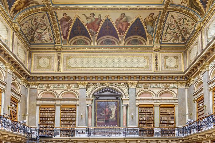 Vienna College Library, Vienna, Austria