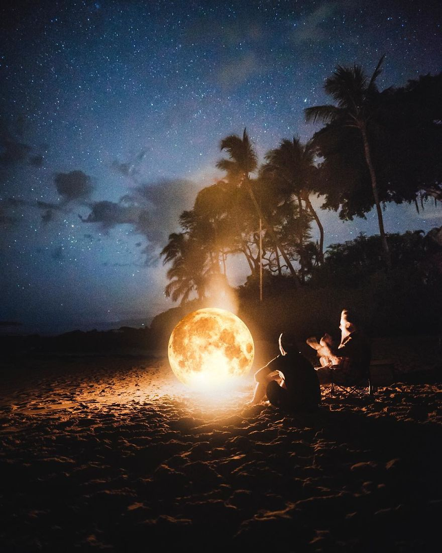 Moon Campfire