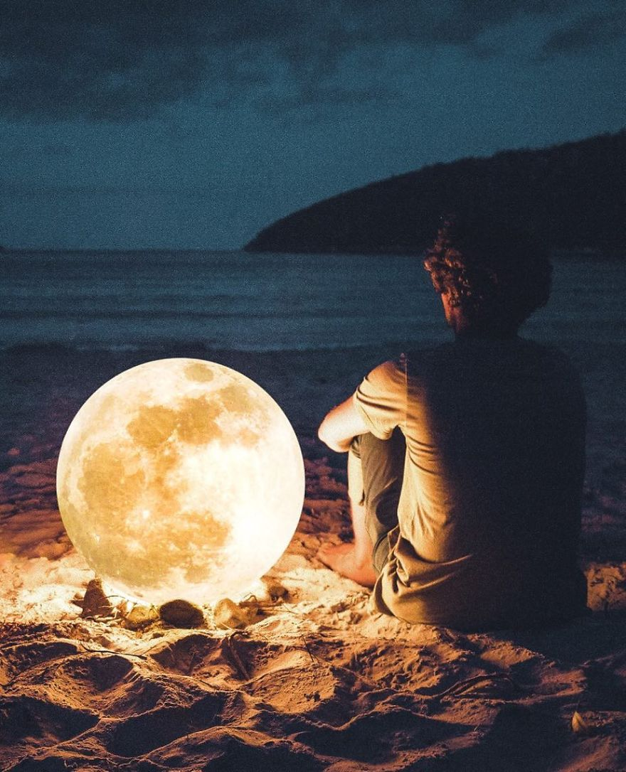 Sitting Next To The Moon