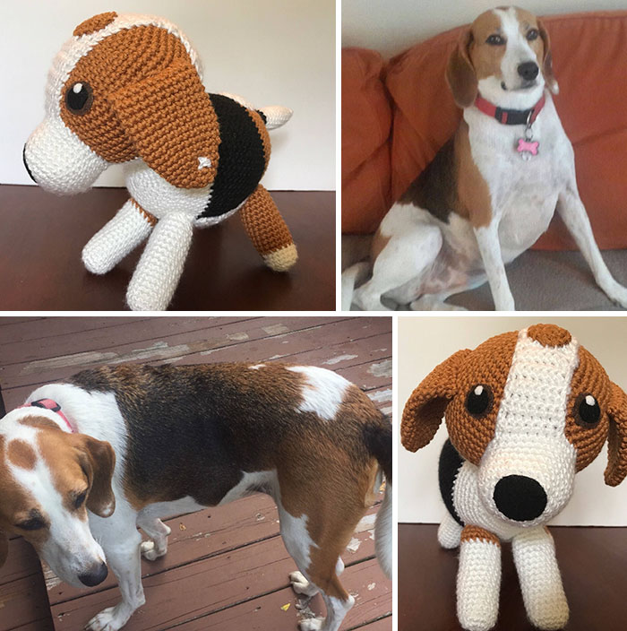 You Can Get A Hand Crocheted Version Of Your Dog!