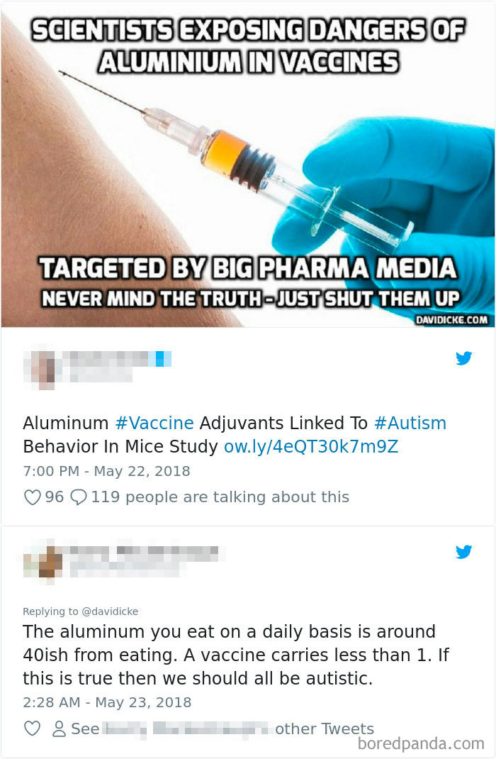 Vaxxer Says Mice Study Shows Autism In Vaccines