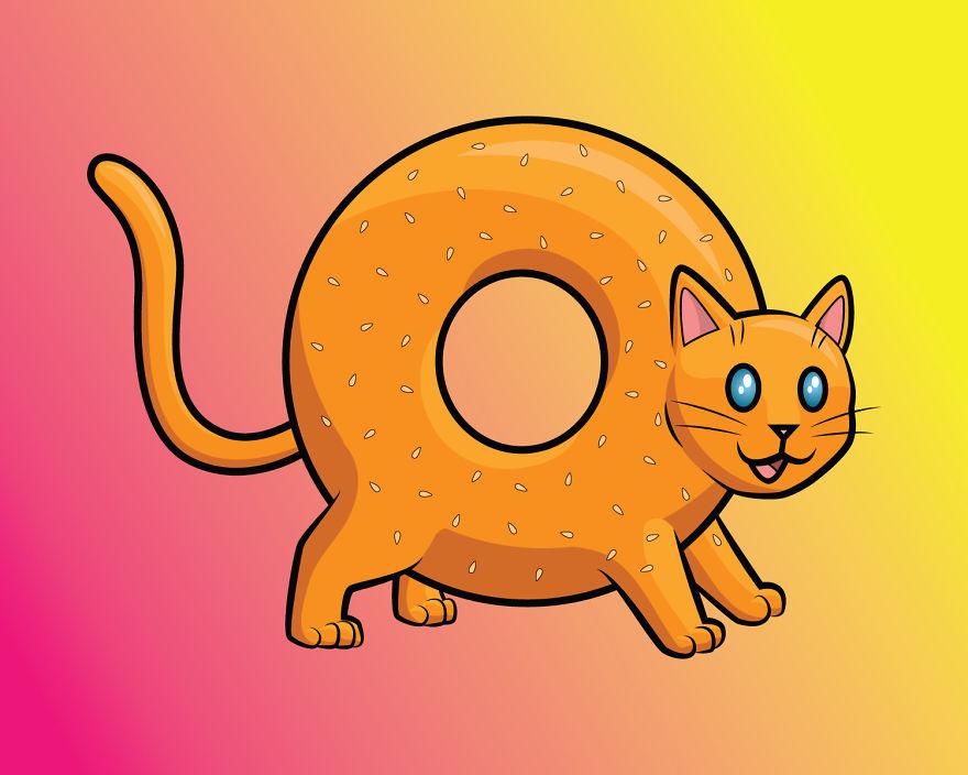 Bagel Cat
