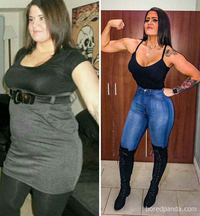 255 Unbelievable Before After Transformation Pics That Show If