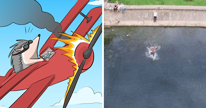 This Artist Combines Comics And Famous Internet Gifs To Create Funny Backstories