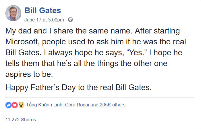 15a00eaf On Fathers day, the entrepreneur took to social media to celebrate his  beloved dad
