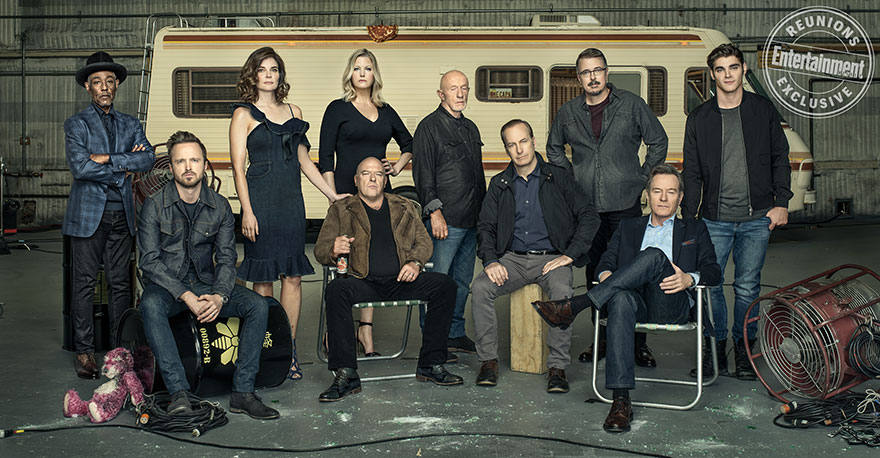 'Breaking Bad' Cast Reunites To Celebrate The Show's 10 Year Anniversary, And Gustavo Looks Nothing Like He Did On The Show