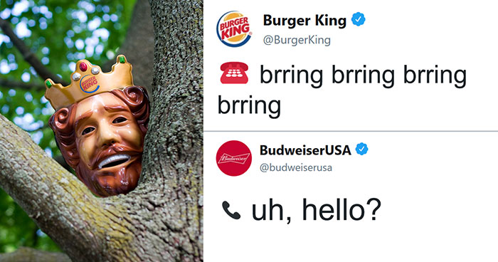 Burger King And Budweiser Just Had The Weirdest Conversation On Twitter And It Gets Crazier With Every Message