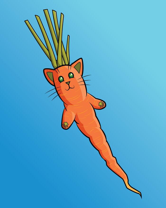 Carrot Cat