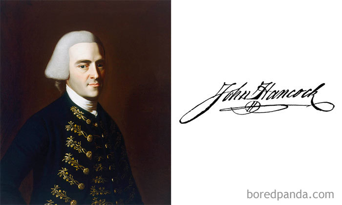 John Hancock - The First And Third Governor Of The Commonwealth Of Massachusetts