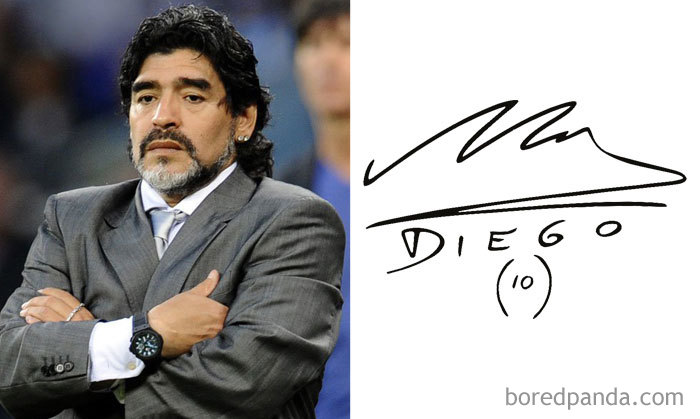 Diego Maradona - Argentine Retired Professional Footballer And Manager