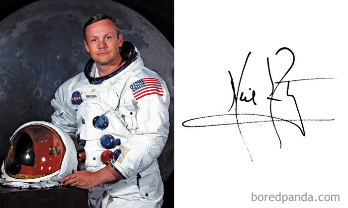 Neil Armstrong - American Astronaut And Aeronautical Engineer Who Was The First Person To Walk On The Moon