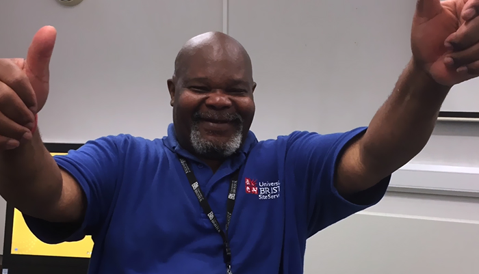 This Janitor Received The Gift Of A Lifetime From Anonymous Students And It Will Melt Your Heart